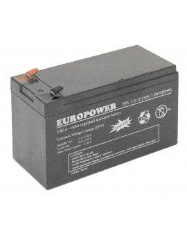 Europower 12V 7Ah akumulator AGM model EPL