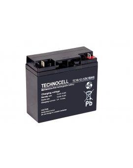 TECHNOCELL 12V 18Ah, AGM Akumulator