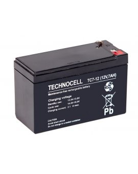TECHNOCELL 12V 7Ah, Akumulator