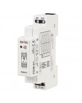 Zamel przekaźnik elektromagnetyczny 12V AC/DC 16A Zamel PEM-01/012