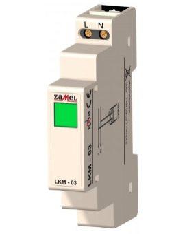 Zamel Wskaźnik zasilania 230V LED zielona LKM-03-20