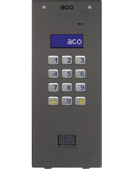 ACO CDNP7ACC ST Domofon cyfrowy z zamkiem szyfrowym i czytnikiem zbliżeniowym