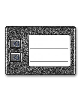 ACO CDN-2NP ST Mała, podświetlana lista opisowa z 2 przyciskami