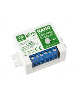 DTM NANO 868 radioodbiornik 1-kanałowy 12-24V