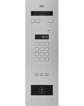 ACO INSPIRO 5+ Domofon cyfrowy z zamkiem szyfrowym, elektroniczną listą oraz czytnikiem zbliżeniowym