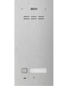 ACO FAM-PRO-A-1NPACC Domofon cyfrowy z czytnikiem breloków i 1 przyciskiem