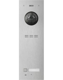 ACO COMO-PRO-V1 Wideodomofon cyfrowy do systemu PRO, ze zbliżeniowym czytnikiem breloków i 1 przyciskiem dzwonienia