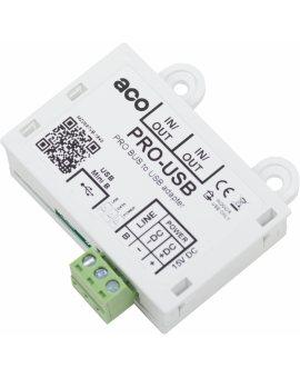 ACO PRO-USB Interfejs USB do zarządzania, poprzez magistralę systemu, urządzeniami PRO generacji 3