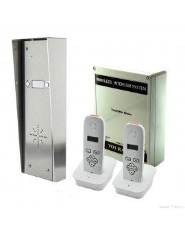BFT 703-HS2 DECT Zestaw 2 przycisków z 2 słuchawkami bezprzewodowego domofonu
