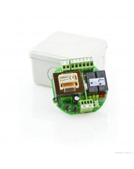 DTM UVR-2 dwukanałowy odbiornik radiowy, zasilany napięciem 230V AC pracujący w systemie DTM433MHz