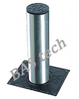 BFT STOPPY B 115/500 I, słupek parkingowy, zapora parkingowa, Elektromechaniczna zapora drogowa Czas otwarcia 7 s, śr. cylindra 115 mm, grubość ścianki 4 mm, wys. 500 mm. Szczelność: IP 67. Kolor INOX, część odblaskowa. Odporność: 6 000 J na uderzenie