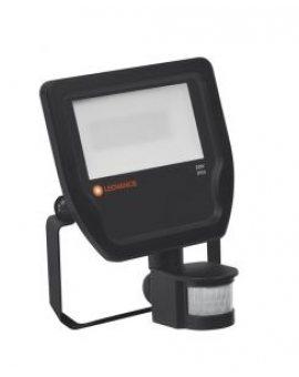 Projektor FLOODLIGHT LED 20W 4000K 100st. IP65 LEDV 2200lm czarny z czujnikiem ruchu