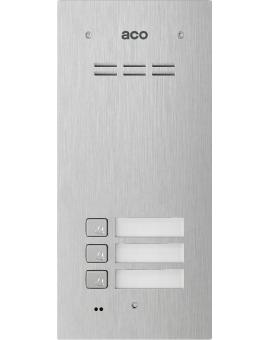 ACO COMO-PRO-A3 Domofon cyfrowy z czytnikiem breloków i 3 przyciskami