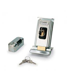 Came LOCK81 Uniwersalny poziomy lub pionowy, jednocylindrowy zamek elektromagnetyczny, zasilanie 12 V A.C./D.C.