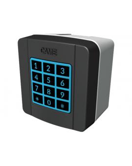 Came 806SL-0170 433, 92 MHz klawiatura radiowa z 12 klawiszami, niebieskim podświetleniem, pamięcią 25 kodów
