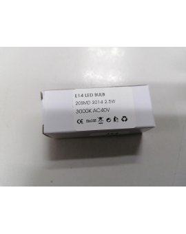 Nice E14 LED BULB 2, 5W AC 40V żarówka LED do lamp sygnalizacyjnych Nice LUCY 24V