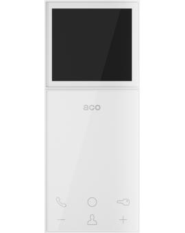 """ACO MP800 3, 5"""" Monitor kolorowy cyfrowy 3, 5"""", głośnomówiący, do systemów wideodomofonowych CDN, INSPIRO, Familio P/PV, 7 (kolor: biały)"""
