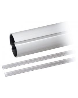 Came G03752 Ramię o przekroju owalnym z aluminium lakierowanego na biało, wyposażone w profil ochronny rowków. Długość ramienia: 4 m