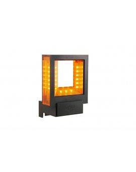 DTM QUADRO lampa sygnalizacyjna LED zakres zasilania od 24V do 230V
