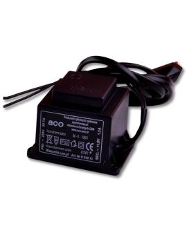 ACO TR 11, 5V 1, 2A Transformator 11, 5V 1, 2A, z przewodami i wtyczką 230V