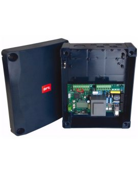 BFT PERSEO CBE do zapór STOPPY-PILLAR-XPASS Centrala sterująca do zapór STOPPY-PILLAR-XPASS, zasilanie 230V, wbudowany radioodbiornik 2 kanałowy z pamięcią 2048 pilotów