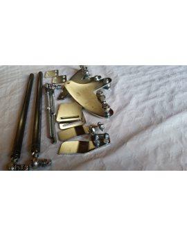 Mechanizm cięgno do od 4,51m do 6m bramy harmonijkowej SDM M 50, mechanizm do ot
