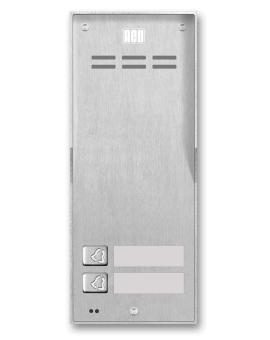FAM-P-2NPACC NT Domofon cyfrowy z czytnikiem breloków i 2 przyciskami