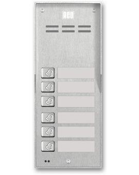 FAM-P-6NPACC NT Domofon cyfrowy z czytnikiem breloków i 6 przyciskami