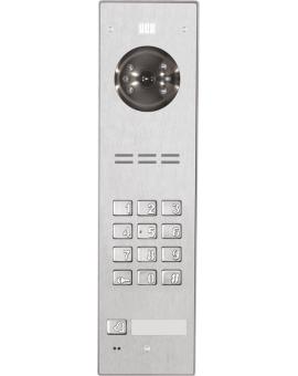 FAM-PRO-1NPZSACC NT Wideodomofon cyfrowy z zamkiem szyfrowym, czytnikiem breloków oraz 1 przyciskiem