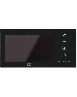 ACO MPRO 7 BK Wideomonitor cyfrowy, głośnomówiący ze szklanym frontem i kolorowym wyświetlaczem 7''